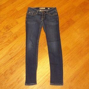 BKE Stella Skinny women's size 27R stretch jeans